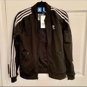(My) Adidas, Black Track Jacket, Medium, NWT $25